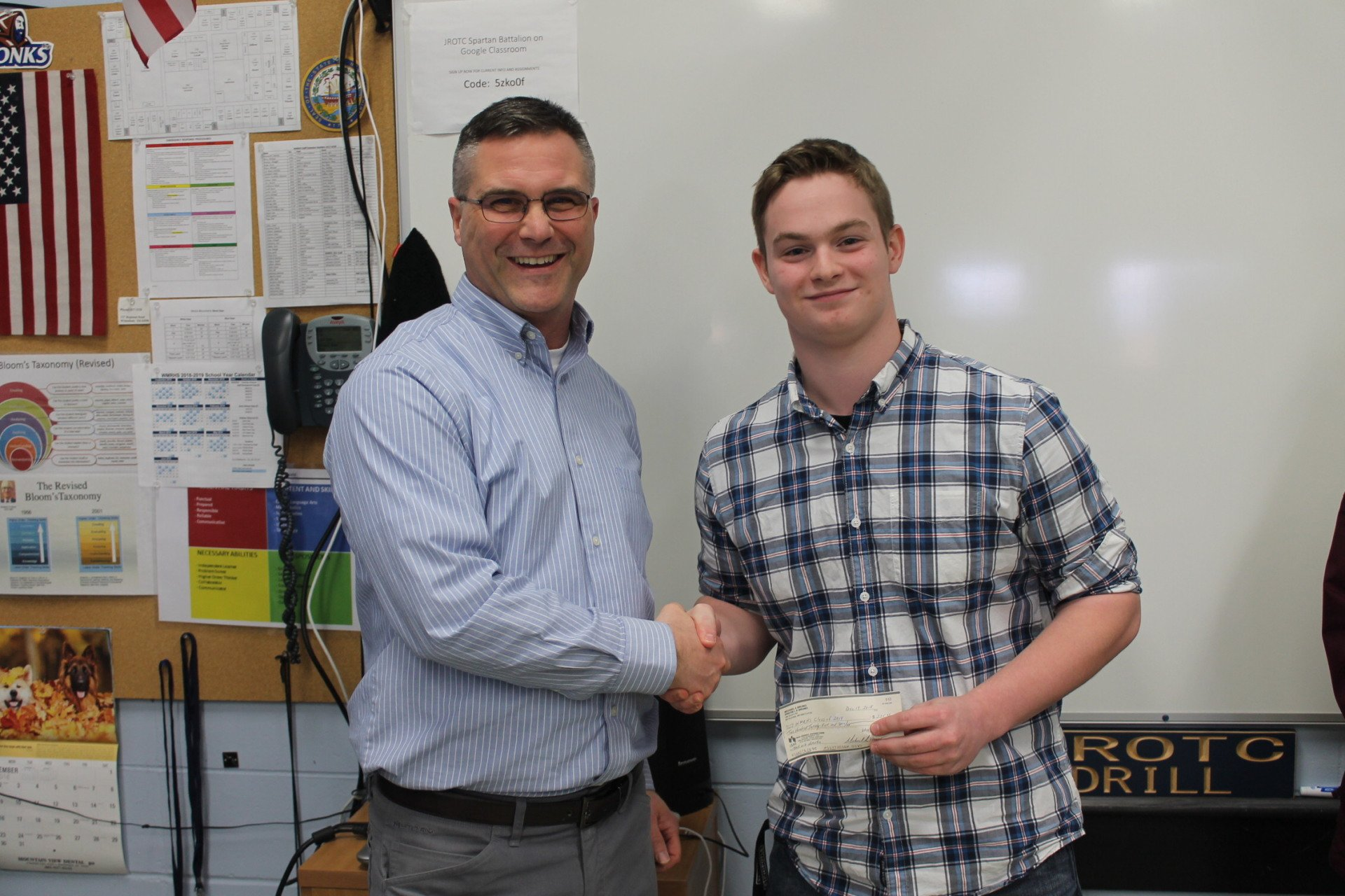 Donation to the White Mountains Regional High School Class of 2019